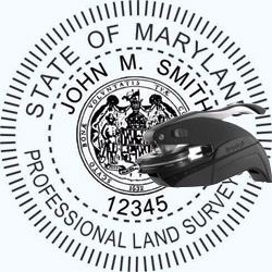 Land Surveyor Seal - Pocket - Maryland