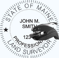 Land Surveyor Seal - Pocket - Maine