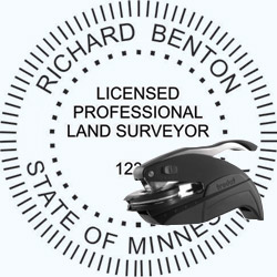 Land Surveyor Seal - Pocket - Minnesota