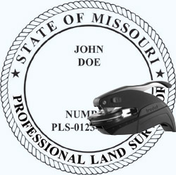 Land Surveyor Seal - Pocket - Missouri