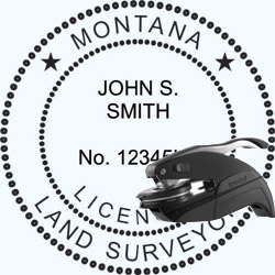Land Surveyor Seal - Pocket - Montana