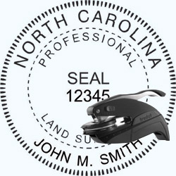 Land Surveyor Seal - Pocket - North Carolina