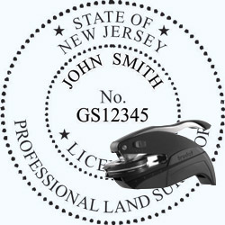 Land Surveyor Seal - Pocket - New Jersey