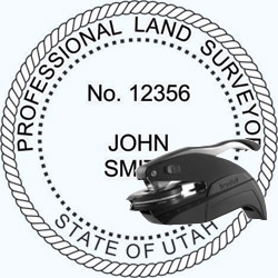 Land Surveyor Seal - Pocket - Utah