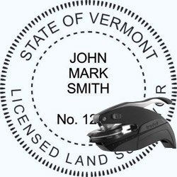 Land Surveyor Seal - Pocket - Vermont