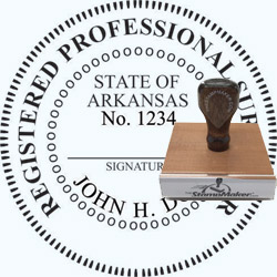 Land Surveyor Stamp - Arkansas