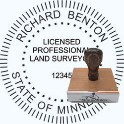 Land Surveyor Stamp - Minnesota