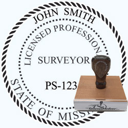 Land Surveyor Stamp - Mississippi