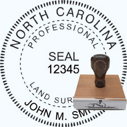 Land Surveyor Stamp - North Carolina