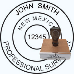 Land Surveyor Stamp - New Mexico