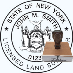 Land Surveyor Stamp - New York