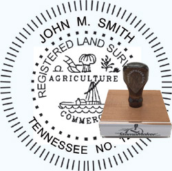 Land Surveyor Stamp - Tennessee