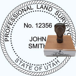Land Surveyor Stamp - Utah