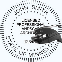 Landscape Architect Seal - Pocket - Minnesota