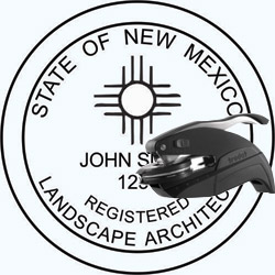Landscape Architect Seal - Pocket - New Mexico