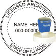 Architect Stamps and Seals
