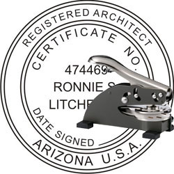 Architect Seal - Desk Top Style - Arizona
