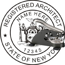 Architect Seal - Desk Top Style - New York