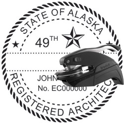 Architect Seal - Pocket Style - Alaska