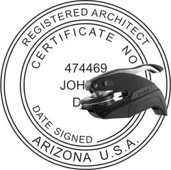 Architect Seal - Pocket Style - Arizona