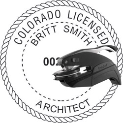 Architect Seal - Pocket Style - Colorado