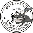 Architect Seal - Pocket Style - Delaware ARCHITECT_POCKET_SEAL_DELAWARE