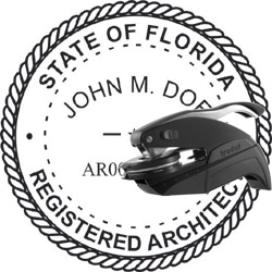 Architect Seal - Pocket Style - Florida