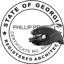 Architect Seal - Pocket Style - Georgia