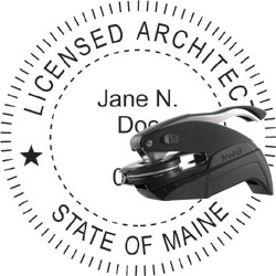 Architect Seal - Pocket Style - Maine