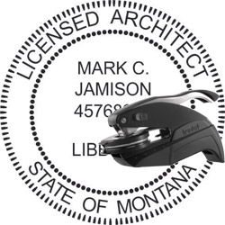 Architect Seal - Pocket Style - Montana
