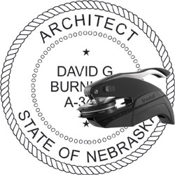 Architect Seal - Pocket Style - Nebraska