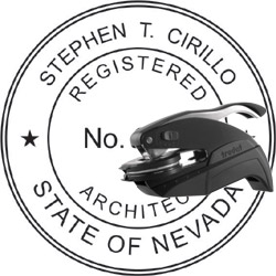 Architect Seal - Pocket Style - Nevada
