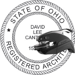 Architect Seal - Pocket Style - Ohio