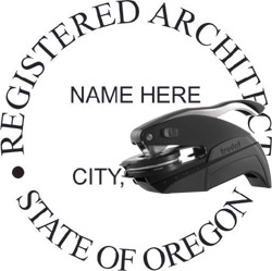 Architect Seal - Pocket Style - Oregon