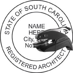 Architect Seal - Pocket Style - South Carolina