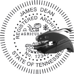 Architect Seal - Pocket Style - Tennessee