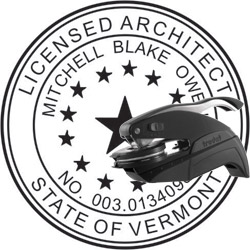 Architect Seal - Pocket Style - Vermont
