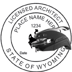 Architect Seal - Pocket Style - Wyoming