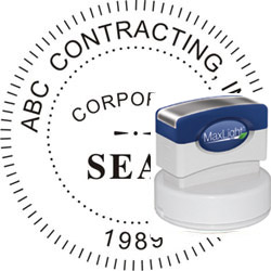 MaxLight 655 Corporate Seal Stamp