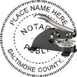Notary Seal - Desk Top Style - Maryland NOTARY_DESK_TOP_MARYLAND