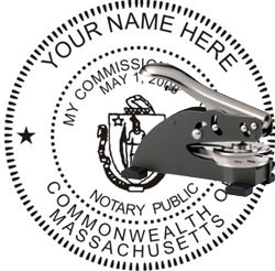 Massachusetts Notary Stamps Seals