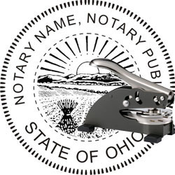Notary Seal - Desk Top Style - Ohio