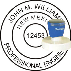 Engineer Seal - Pre Inked Stamp - New Mexico