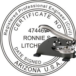 Engineer Seal - Desk Top Style - Arizona
