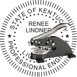 Engineer Seal - Desk Top Style - Kentucky