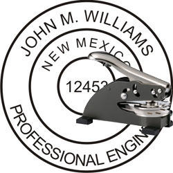 Engineer Seal - Desk Top Style - New Mexico