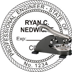 Engineer Seal - Desk Top Style - Nevada