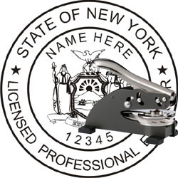 Engineer Seal - Desk Top Style - New York