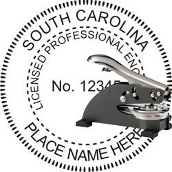 Engineer Seal - Desk Top Style - South Carolina