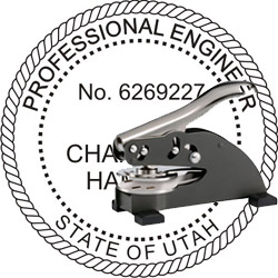 Engineer Seal - Desk Top Style - Utah